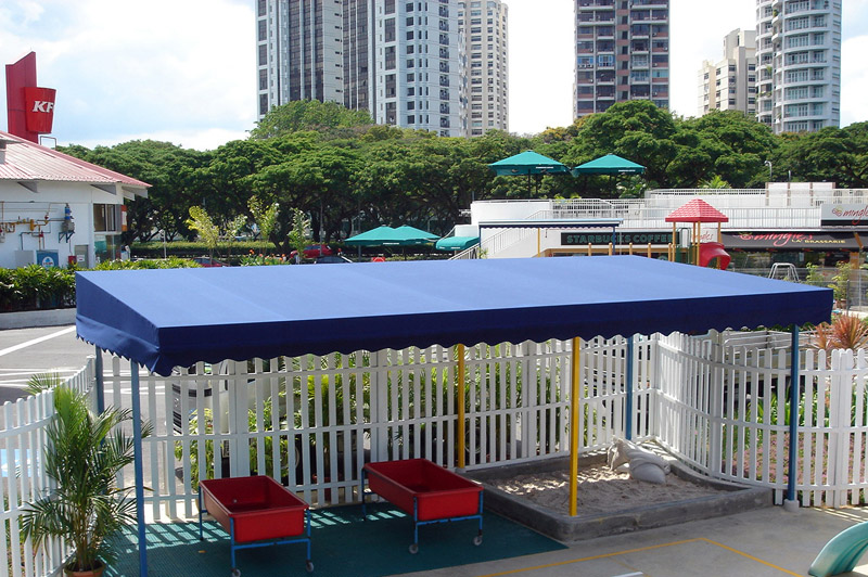 Outdoor playarea canopy