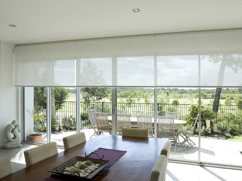 translucent full height blinds