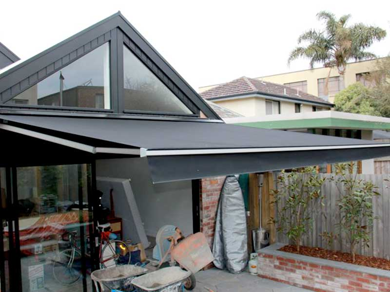 simple porch awning